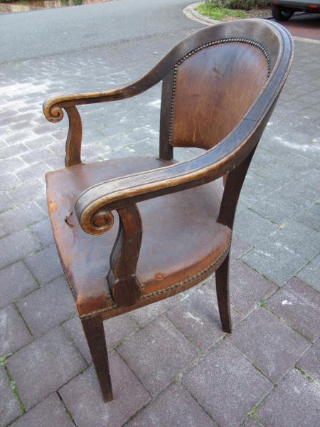 Schreibtischstuhl antik  Antik Café - Antike Möbel