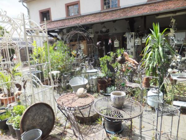 Antiquitäten Cafe Marktheidenfeld : Antik café gartenmöbel und gartendeko