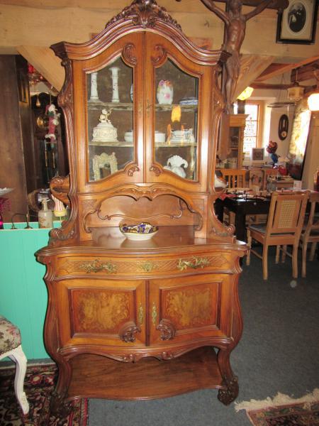 vitrine barockstil aus arztnachlass zierlich sehr selten b102 h203 t50 1450 euro