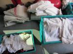 Tisch - und Bettwäsche aus Nachlässen
