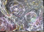 Planeten / Acryl auf Keilrahmen / von Marc Schmelz / 2012 / 70x100x1,5