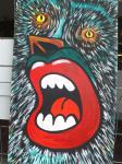 Der Schrei / Acryl auf Keilrahmen / von Marc Schmelz / 2012 / ca 50x100x1,5