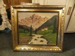 Gemälde / mit Rahmen / 60 x 50 / 85 Euro